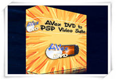 Avex DVD to PSP Suite