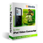iPod Video Converter for Mac by 4Media