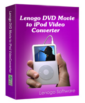 DVD to iPod Movie Converter by Lenogo